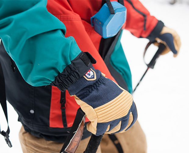 Hestra gloves to keep your hands warm